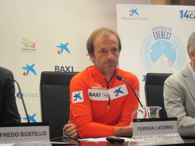 El alpinista Ferran Latorre