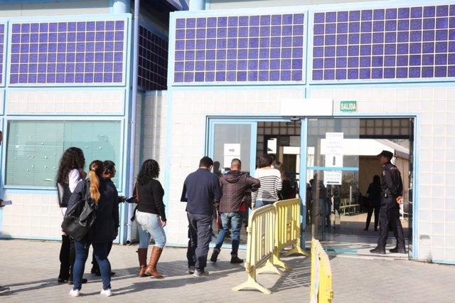 El Centro de Internamiento de Extranjeros, CIE, de Aluche (Madrid)