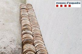 Detenido un hombre por robar tejas de dos viviendas de Ciutadilla (Lleida)