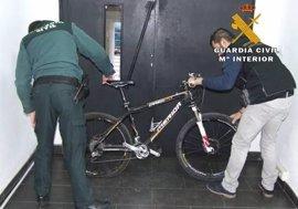 Dos detenidos por 13 robos de bicicletas y motocicletas en Almansa