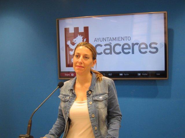 María Guardiola, concejala de Economía