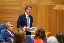 """Feijóo niega """"zonas grises"""" en la ley gallega de financiación de partidos y En Marea pide fiscalía anticorrupción"""
