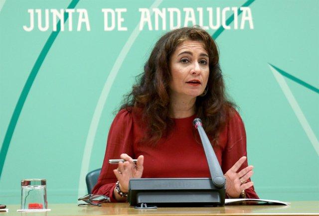 La consejera de Hacienda, María Jesús Montero, valora los PGE para 2017