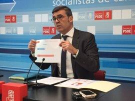 """Cortés (PSOE) dice que tener de ministro a De la Serna """"ha penalizado"""" a Cantabria"""
