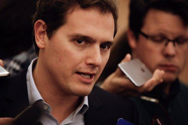 El presidente de Ciudadanos, Albert Rivera