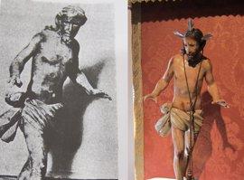 """Regresa """"a casa"""" una """"excepcional"""" talla de Cristo del Despojo, de 1800, cuya pista se perdió en 1940"""