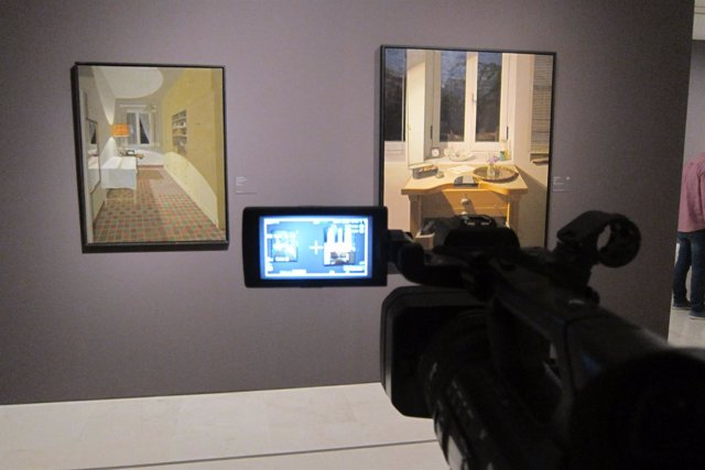 Exposición realismo museo thyssen temporal español siglo XX
