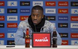 """Diop: """"Los altibajos son habituales en el fútbol"""""""