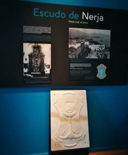 Escudo de Nerja cesión museo