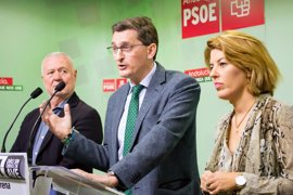 """PSOE ve """"tropelía y abuso"""" del PP a Almería en los PGE y llama la sociedad """"a pasar a la acción"""""""