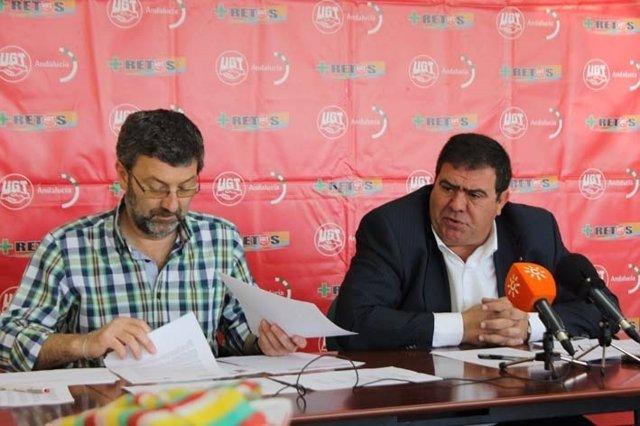 Emilio Terron y Manuel Jiménez.