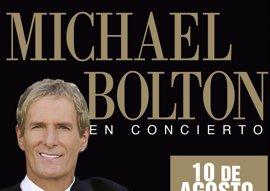 Michael Bolton actuará en Marbella el 10 de agosto