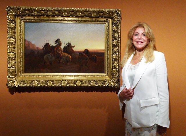 Baronesa Thyssen inaugura exposición/ Europa Press Reportajes