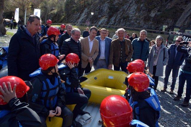 Presentación de la temporada de deportes de aventura en Lleida
