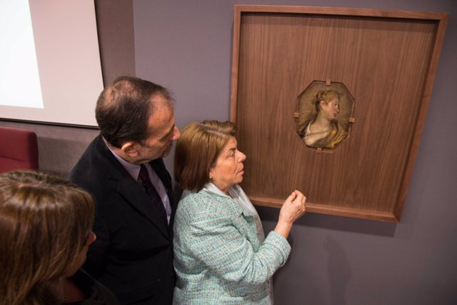 Presentación del cuadro inédito de Velázquez
