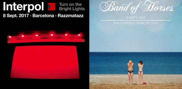 INTERPOL Y BAND OF HORSES