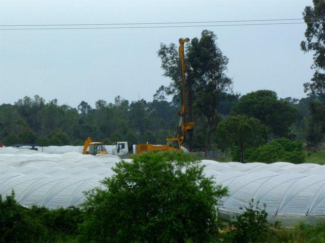 Construcción De Un Pozo Ilegal En El Entorno De Doñana