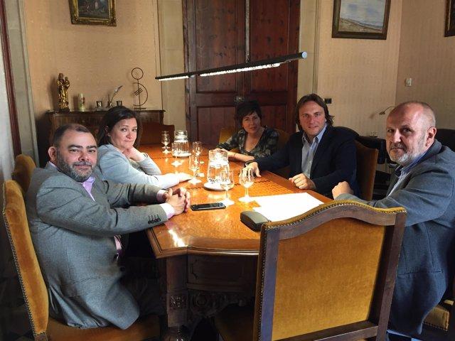 Reunión entre Aptur y el Consell de Mallorca