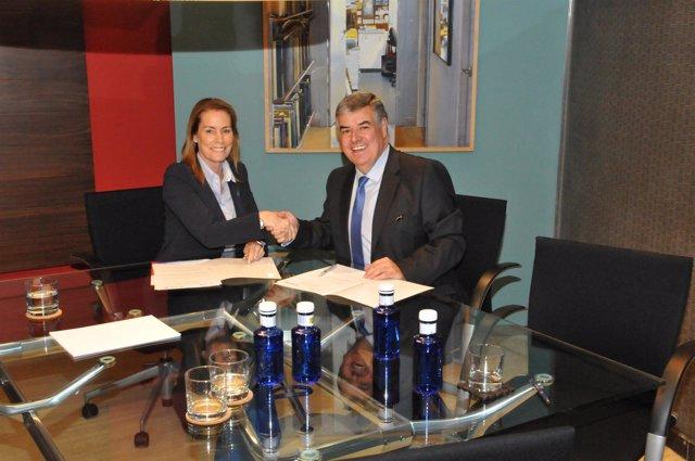 Ibercaja Banco y la Fundación ECOMAR firman un convenio de colaboración