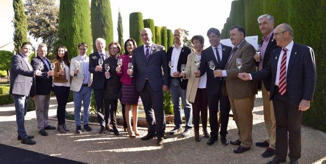 Presentación de la Cata del Vino Montilla-Moriles 2017