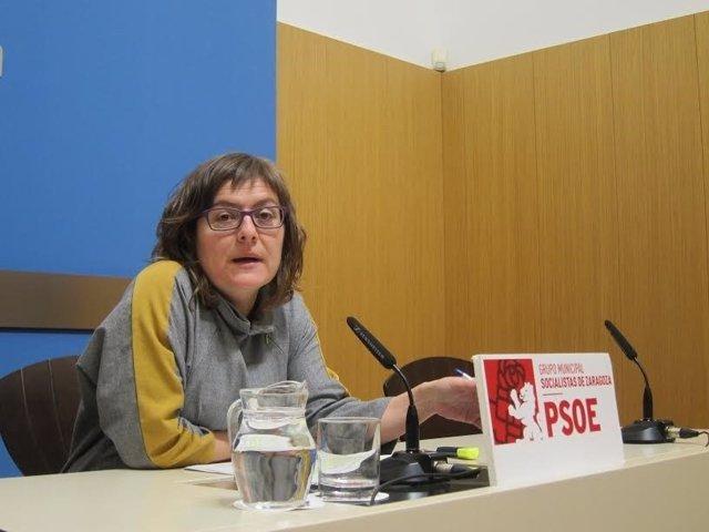 La concejal del PSOE. Marta Aparicio