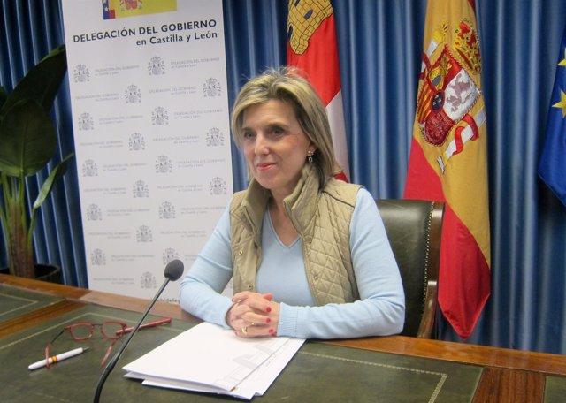 María José Salgueiro, delegada del Gobierno en CyL.