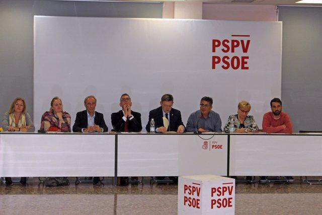 Comisión Ejecutiva Nacional del PSPV-PSOE