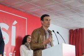 """Sánchez dice que aprobar los PGE sin el apoyo del PSOE demostraría la """"inutilidad"""" de la abstención"""