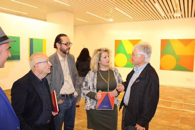 Inauguración de la muestra 'de la A a la Z 29 sonidos pintados', de Tomás García