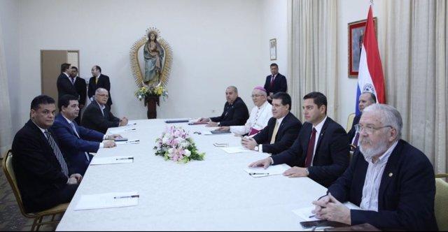 Diálogo Nacional convocado por Horacio Cartes en Paraguay