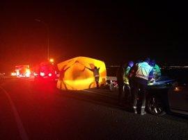 Fallece un hombre de 47 años tras sufrir un accidente de moto en la carretera M-31