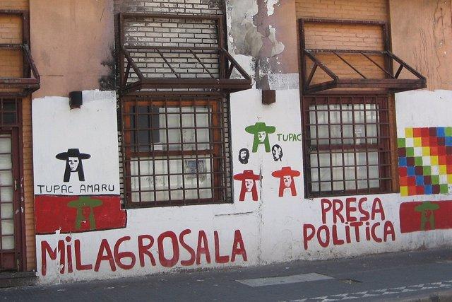 Activista argentina Milagro Sala