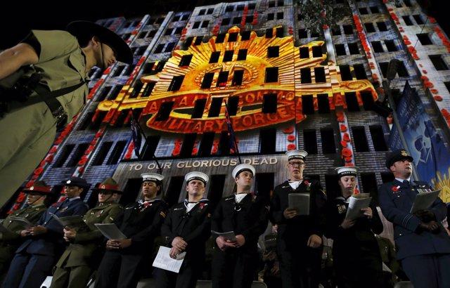 Celebración centenario batalla Gallipoli