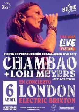Fiesta de presentación del Mallorca Live Festival en Londres
