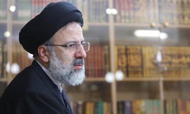 El clérigo iraní Ebrahim Raisi