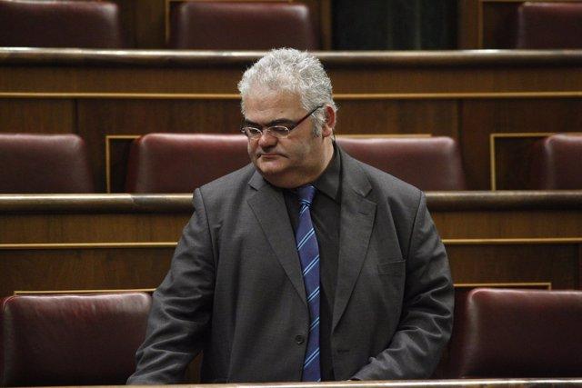 Feliu Guillaumes, de CIU, en el Congreso de los Diputados