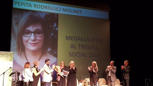 Entrega de las Medallas de Oro 2017 del Colegio de Trabajo Social de Catalunya