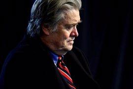 Bannon amenazó con abandonar la administración Trump si no conservaba un mínimo de influencia en el CSN