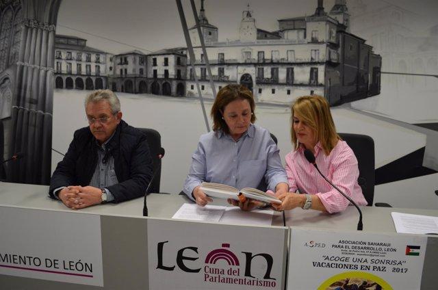 León. Imagen de la rueda de prensa
