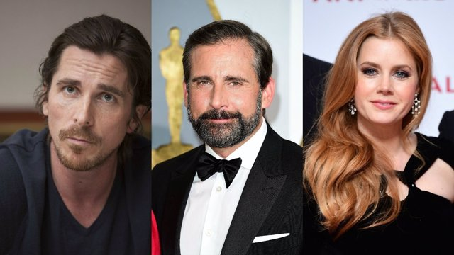 Christian Bal, Amy Adams, Steve Carell