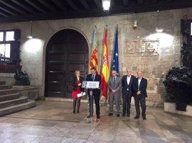 Puig pide una entrevista urgente a Rajoy e impulsará todas las medidas posibles para mejorar los presupuestos