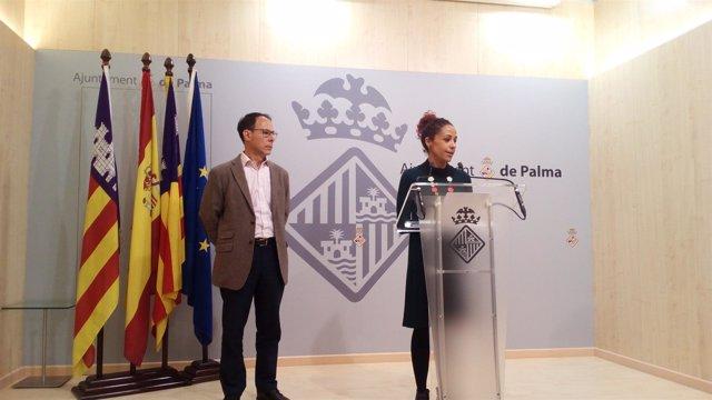 Aurora Jhardi y Jordi Vila