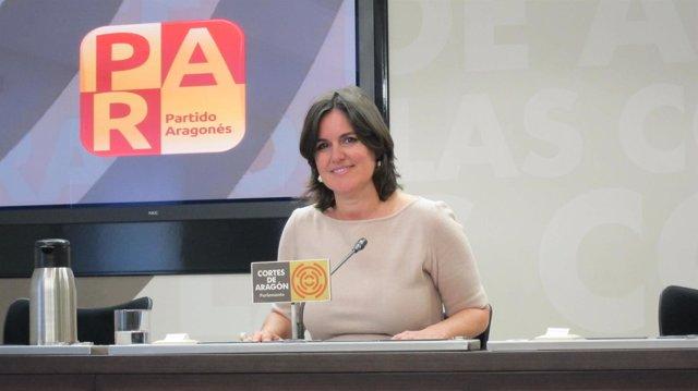 Elena Allué, Diputada Del PAR