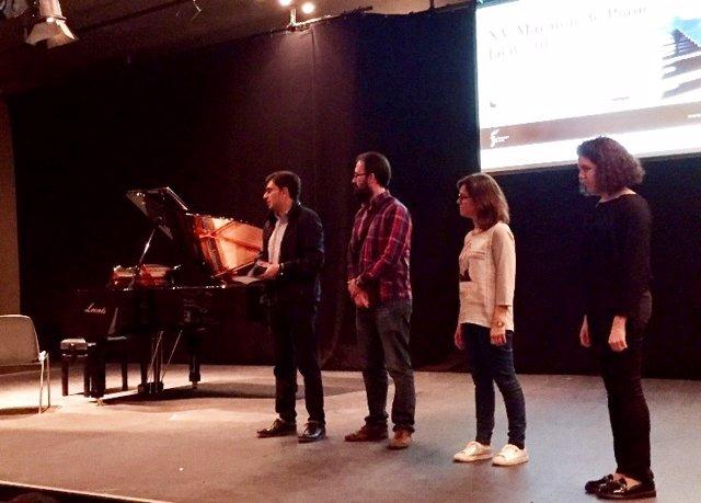 Inauguración del XV Maratón de Piano.