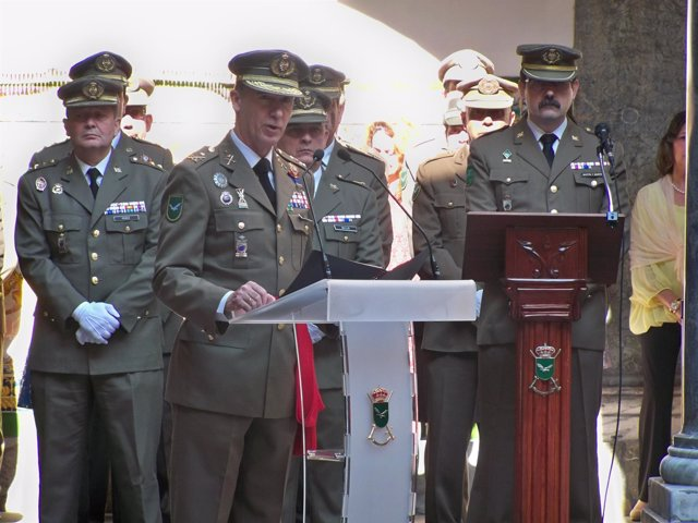 Inspector general del Ejército,teniente general Fernando Aznar Ladrón de Guevara