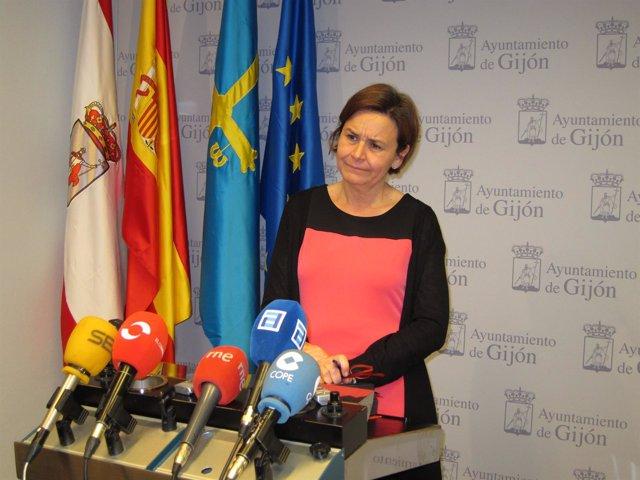 La alcaldesa de Gijón, Carmen Moriyón (Foro)