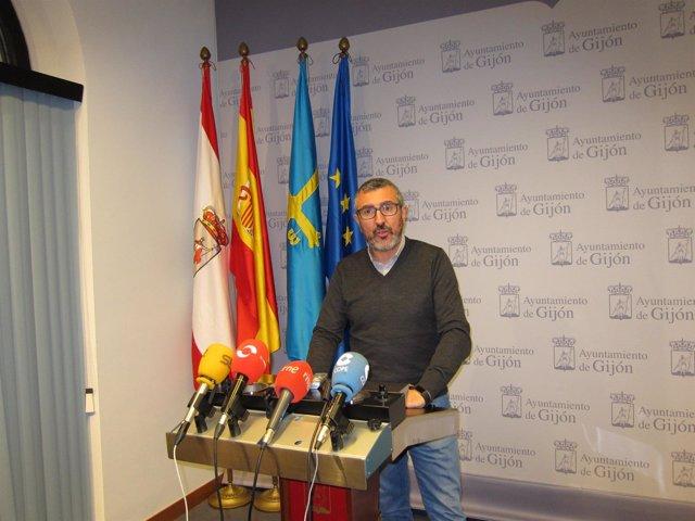 Portavoz de Ciudadanos (Cs) de Gijón, José Carlos Fernández Sarasola