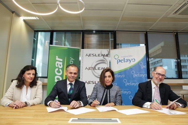Europcar España, Fundación Pelayo y AESLEME juntos para la seguridad vial