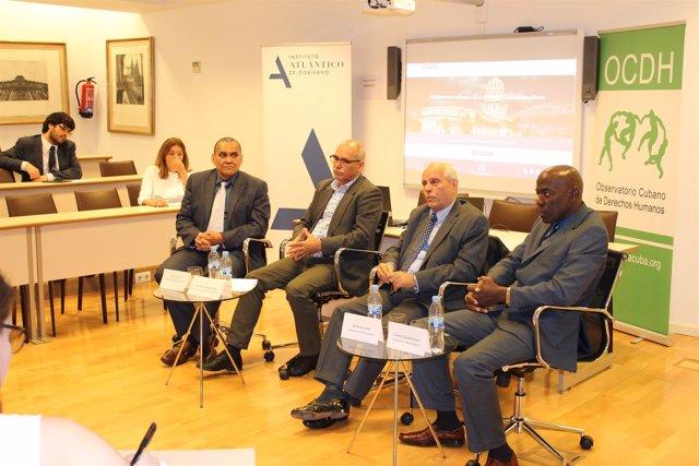 Intelectuales cubanos en Madrid