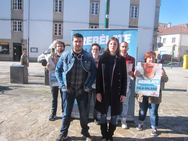 Presentación campaña del BNG 'Rebélate. Fala galego'